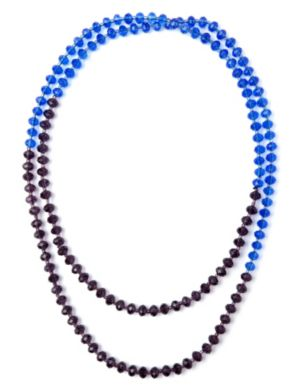 Colorblock Bead Necklace
