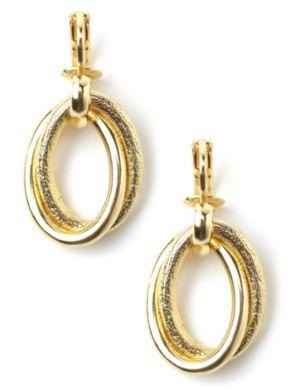 Golden Loop Earrings