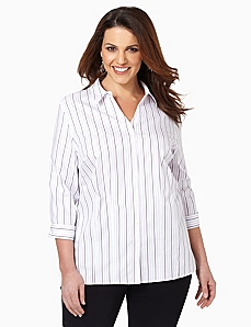 Non-Iron Stripe Buttonfront