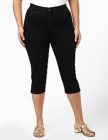 Secret Slimmer® Denim Capri