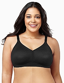 Serenada® Lace No-Wire Back-Smoother Bra