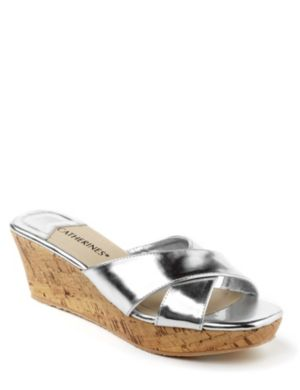Metallic Cork Wedge