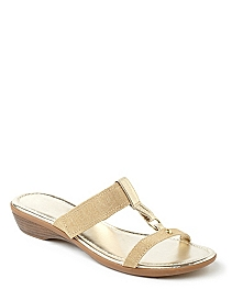 Metallic Sheen Sandal