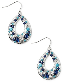 Teardrop Jewel Earrings