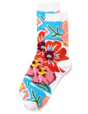 Bali Floral Socks