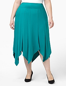 Soft Stretch Skirt by CATHERINES