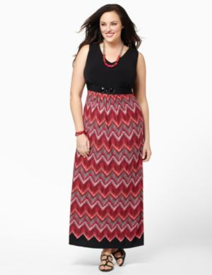 Chevron Gem Maxi