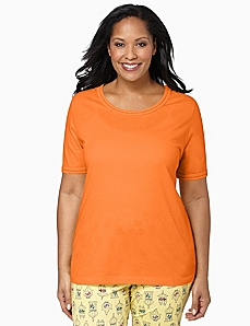 Open Edge Sleep Tee by CATHERINES