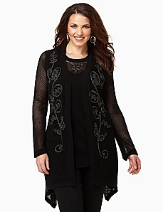 Soutache Allure Cardigan