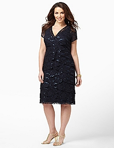 Eclipse Lace Dress by CATHERINES
