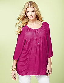 Breezy Pintuck Tunic