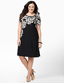 Flourish Noir Dress