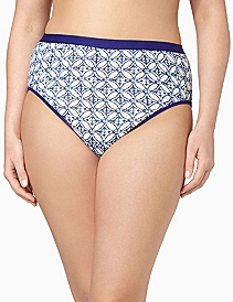 Serenada® Reflection Hi-Cut Panty