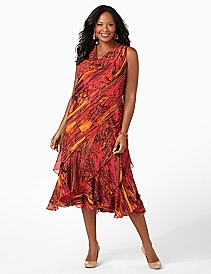 Molten Maxi Dress