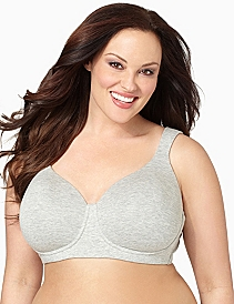 Serenada® No-Wire Cotton T-Shirt Bra