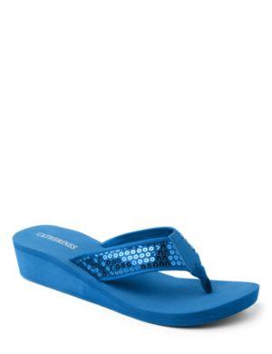 Sequin Flip-Flops