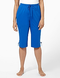Lace-Up Lounge Capri
