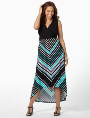 Hi-Low Stripe Maxi