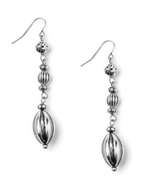 Etched Bead Earrings