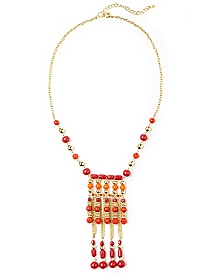 Tribal Tropics Necklace