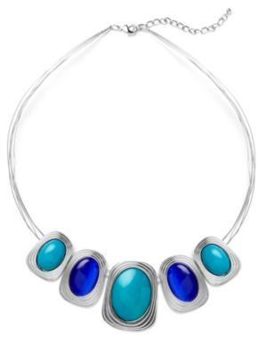 Blue Lagoon Stone Necklace