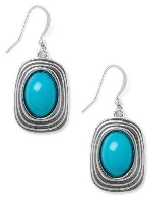 Blue Lagoon Stone Earrings