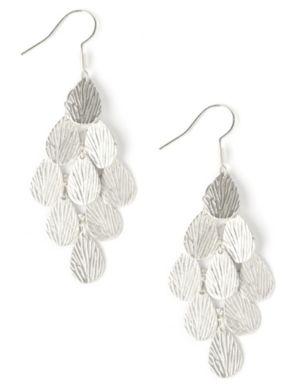 Etched Chandelier Earrings