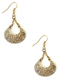 Crescent Charm Earrings