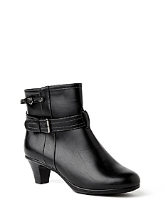 Double Buckle Bootie by CATHERINES