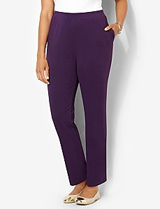 Suprema Knit Pant by Catherines