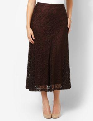 Lace Swirl Skirt