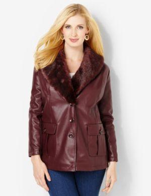 Autumn Faux Leather Jacket