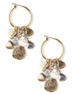 Droplet Hoop Earrings