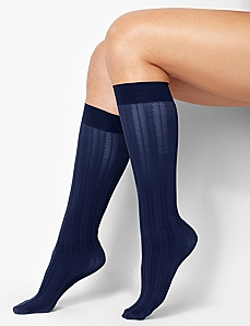 Chevron Stripe Trouser Socks
