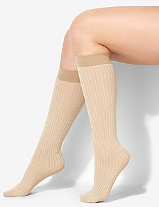 Herringbone Trouser Socks by CATHERINES