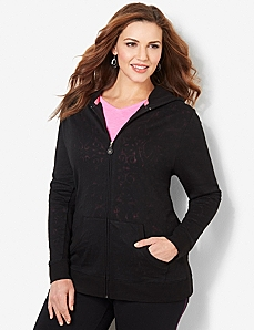 Burnout Zip Jacket