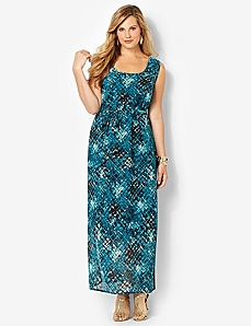 Debut Maxi Dress by Catherines