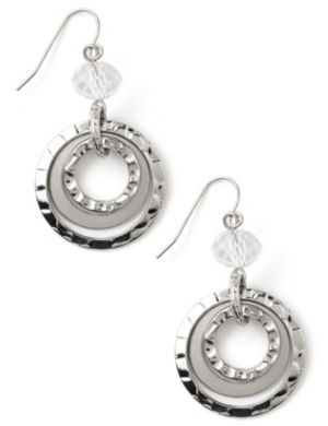 Hoop Edge Earrings