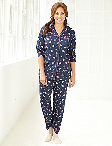 Holiday Mix Pajama Set by CATHERINES