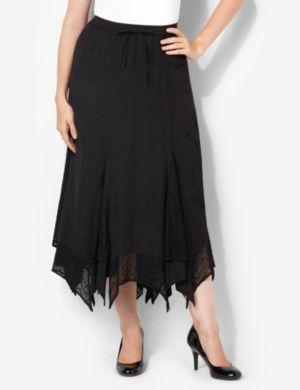 Texture Mix Skirt