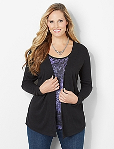 Passion Cardigan & Tank Duet by CATHERINES
