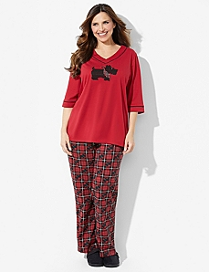 Sentiments Of Joy Pajama Set by CATHERINES
