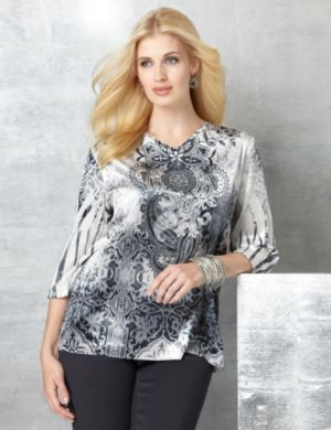 Silver Belle Top
