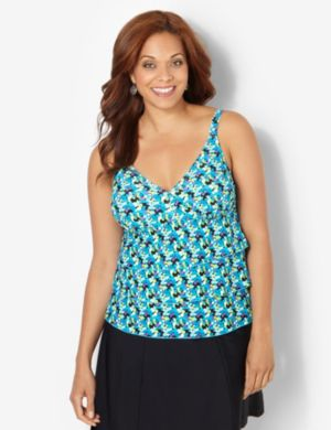 Dotted Delight Swim Tank
