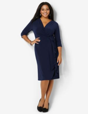 Side-Wrap Dress
