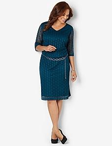Modern Crochet Dress
