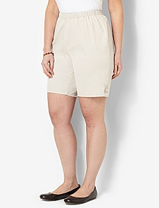 Essential Twill Short by CATHERINES