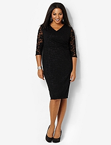 Divine Lace Dress by CATHERINES