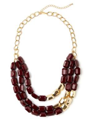 Dynamic Stone Necklace