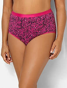 Serenada® Heartbreaker Full Brief Panty